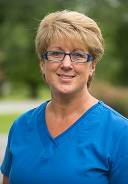 Pamela who is the Dental Hygienist at Lyme Road Dental and a part of our Hanover dental team