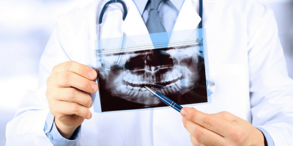 A dentist uses x-rays to help make a correct diagnoses of your oral health.